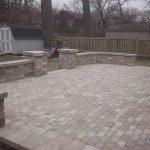 brick patio instalation chicago 2