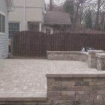 brick patio instalation chicago 3